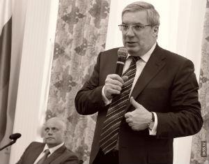 Толоконский объяснил, почему не приехал на инаугурацию Назарова