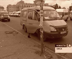 Проезд в омских маршрутках будет стоить 22 рубля